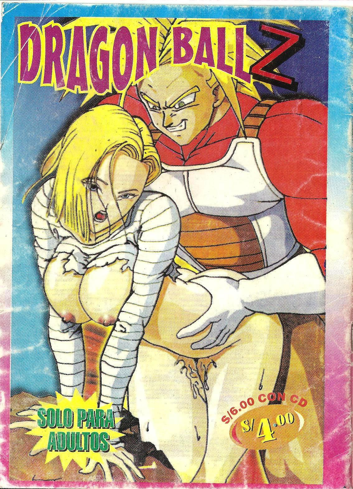 Comic porno de Dragon ball