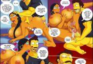Las aventuras de Darren Parte 3 – Los simpson