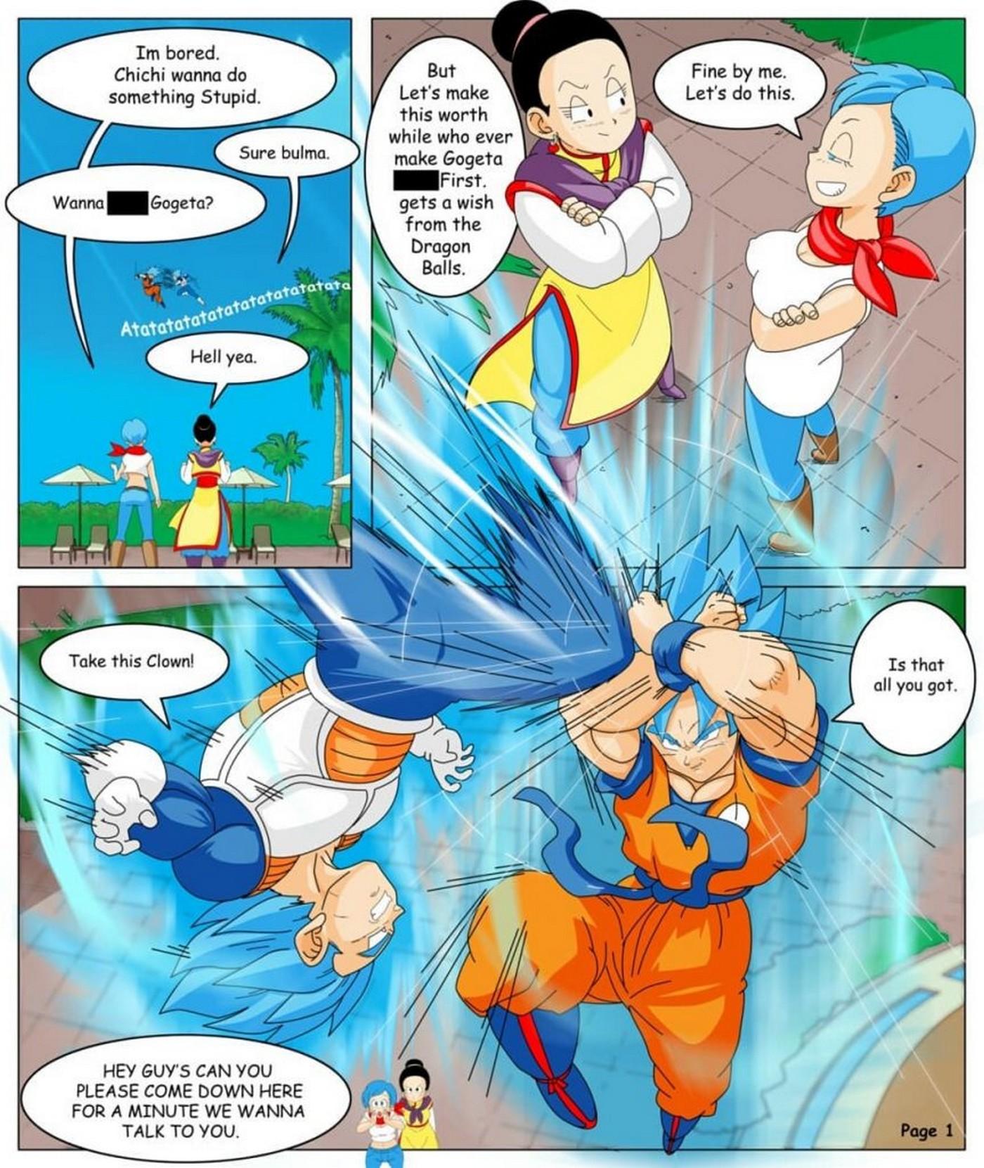 Dragon Ball Yamete La Saga Gogeta 10