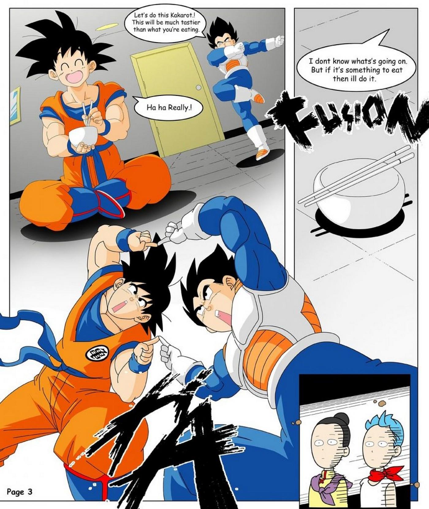 Dragon Ball Yamete La Saga Gogeta 11