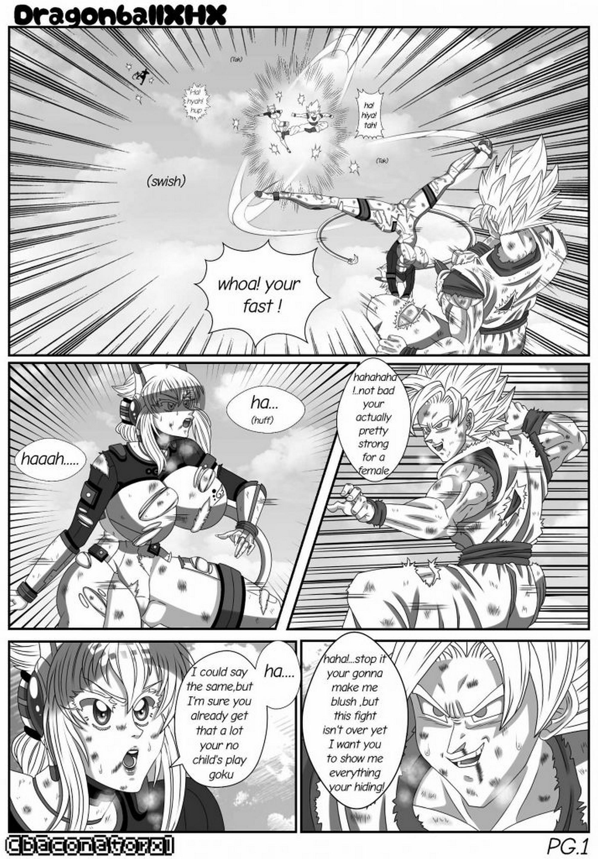 Dragon Ball Z Xhx Izumi 06