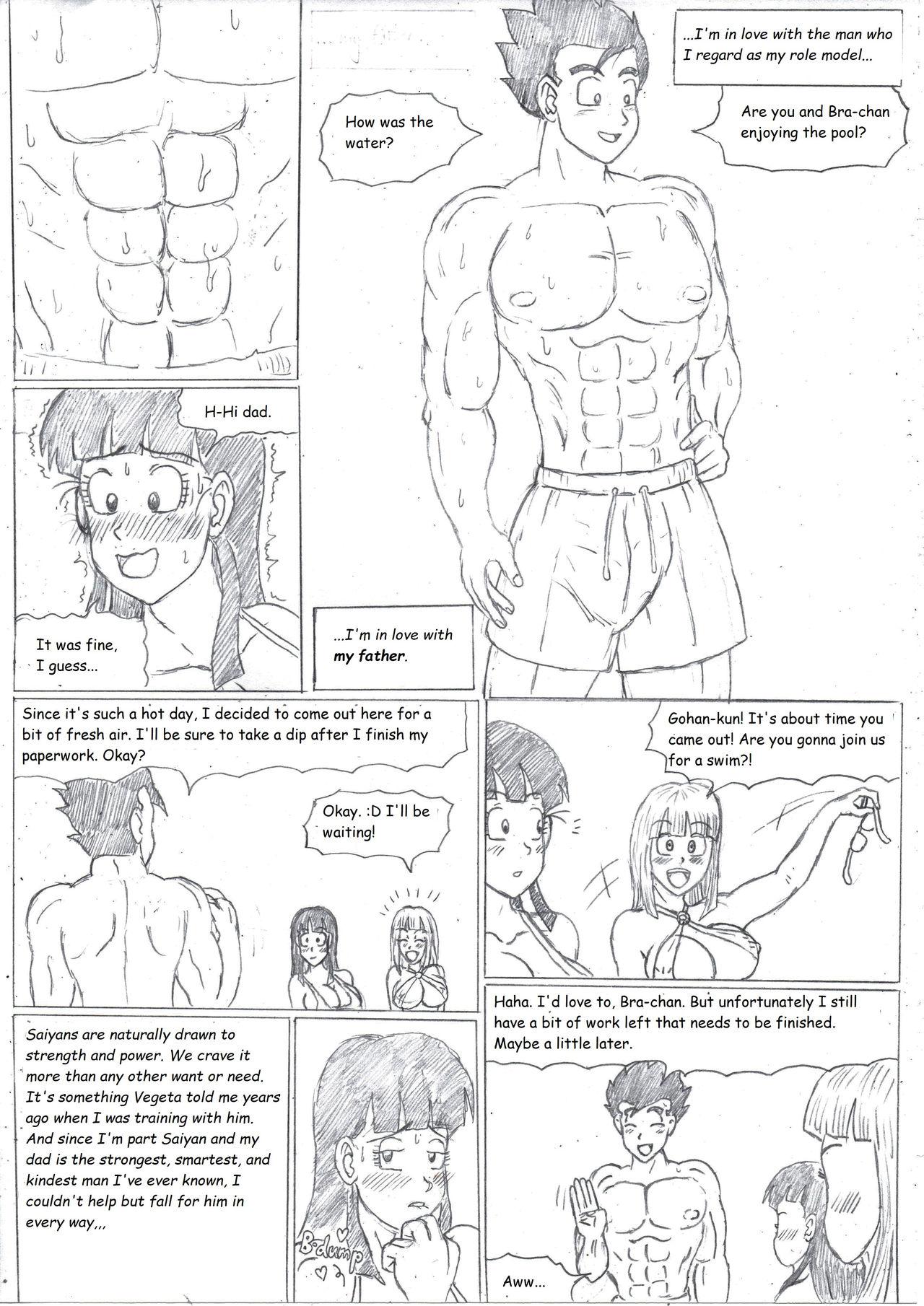 Joven amor dragon ball hentai 13