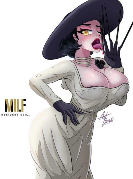 Señora Dimitrescu Softshikioni 01