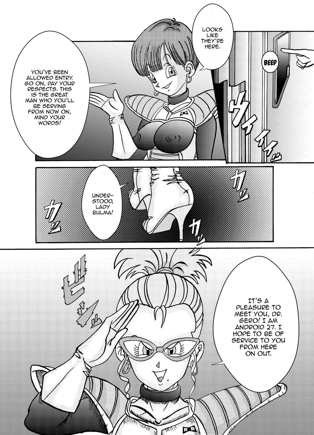 Tanjou Aku No Onna Senshi Jinzou Ningen Ryousan Ka Keikaku Dragon Ball 06