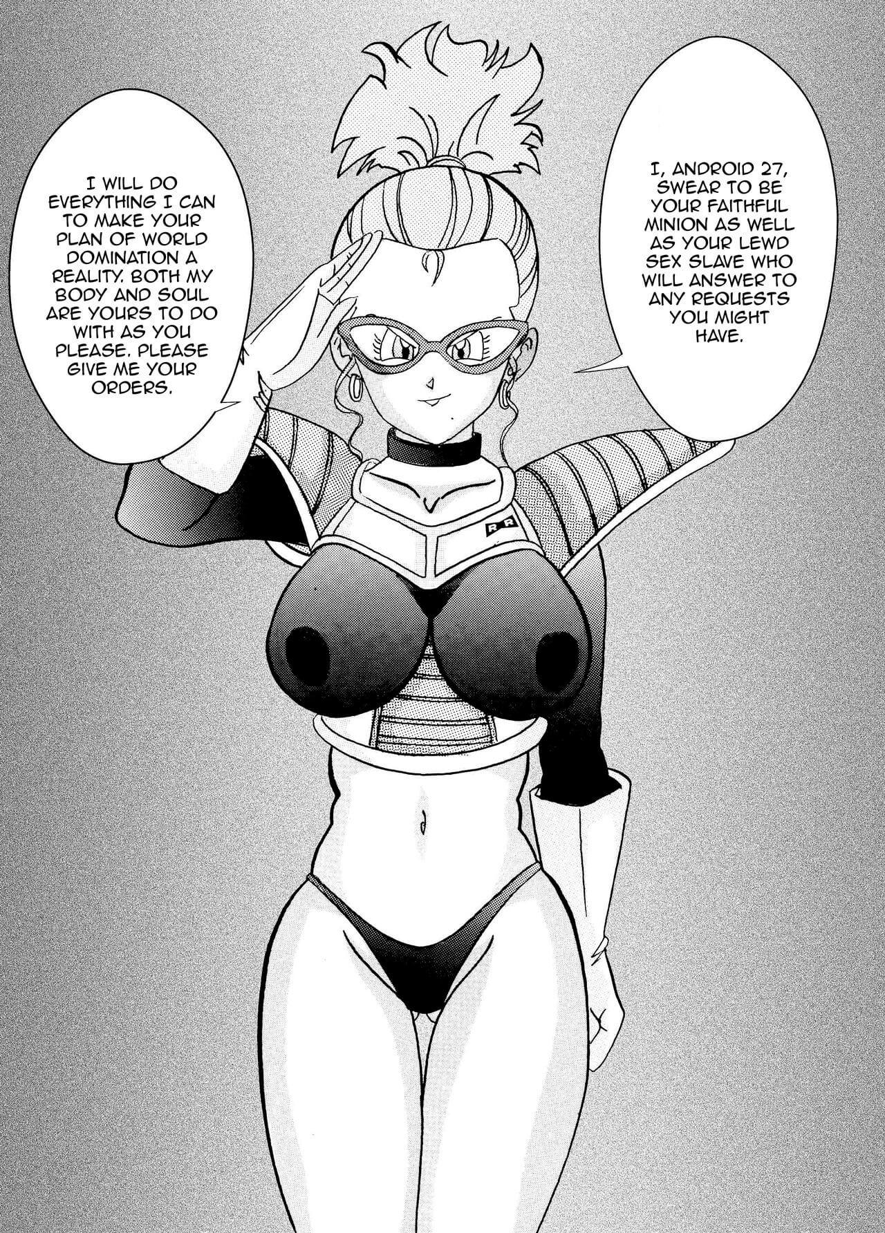 Tanjou Aku No Onna Senshi Jinzou Ningen Ryousan Ka Keikaku Dragon Ball 07