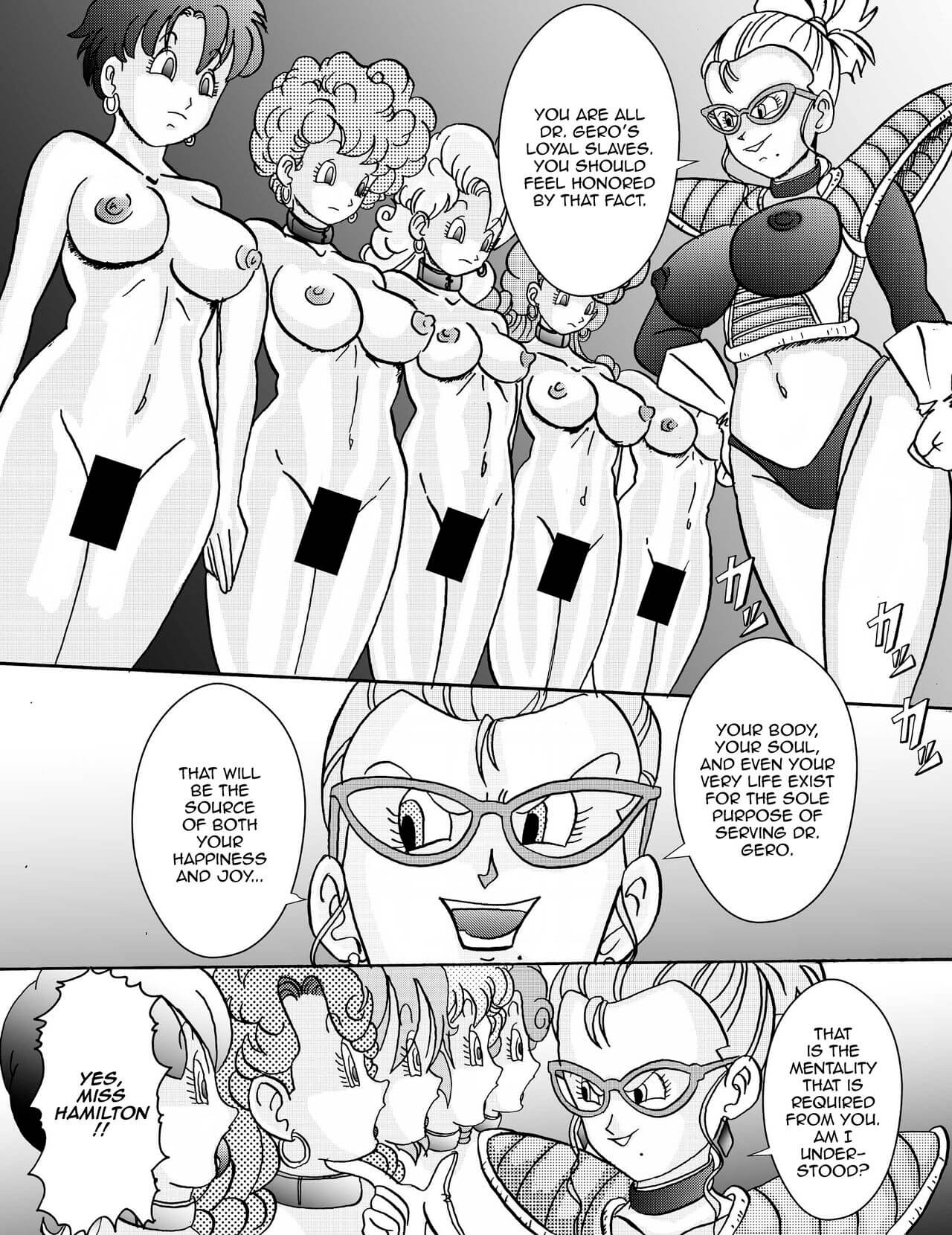Tanjou Aku No Onna Senshi Jinzou Ningen Ryousan Ka Keikaku Dragon Ball 10