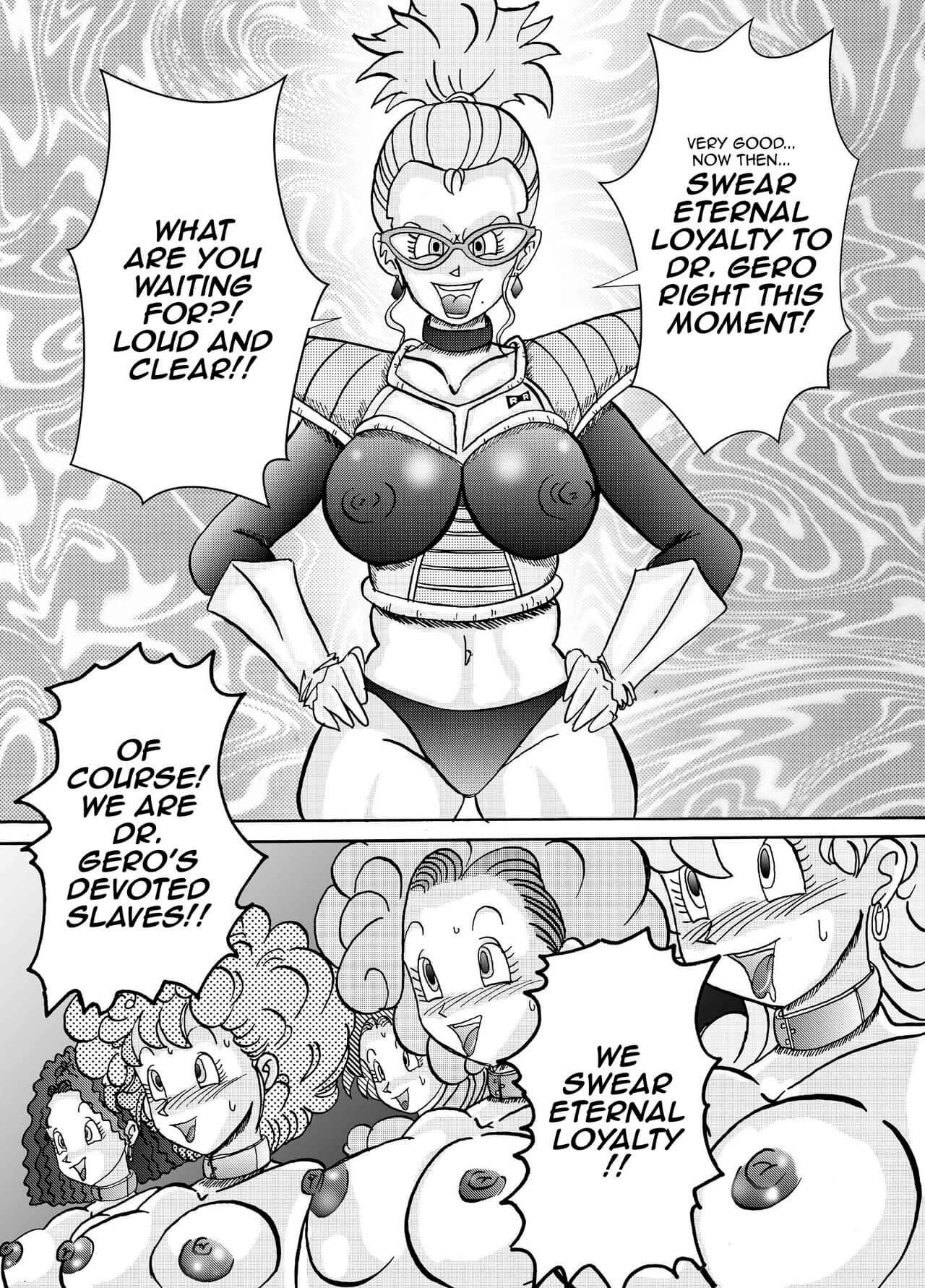 Tanjou Aku No Onna Senshi Jinzou Ningen Ryousan Ka Keikaku Dragon Ball 11