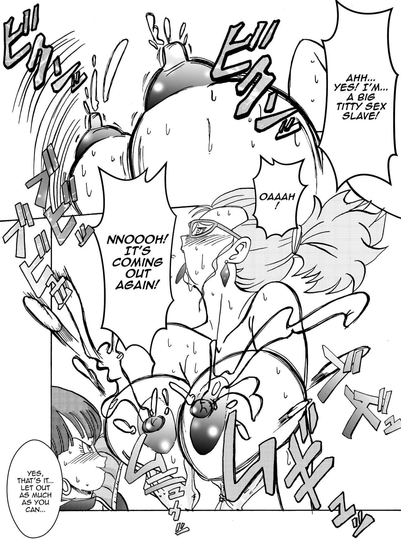 Tanjou Aku No Onna Senshi Jinzou Ningen Ryousan Ka Keikaku Dragon Ball 21
