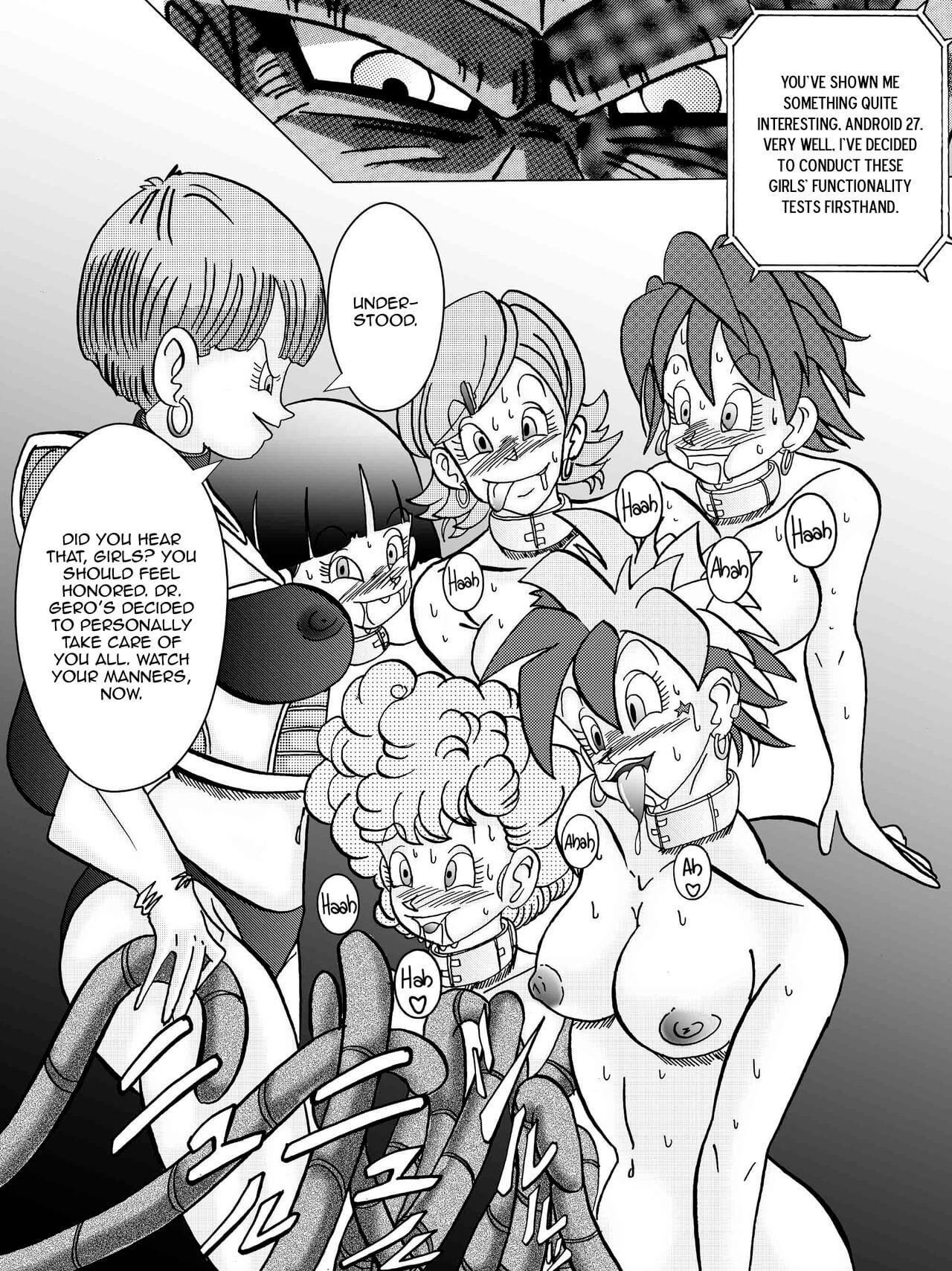 Tanjou Aku No Onna Senshi Jinzou Ningen Ryousan Ka Keikaku Dragon Ball 29