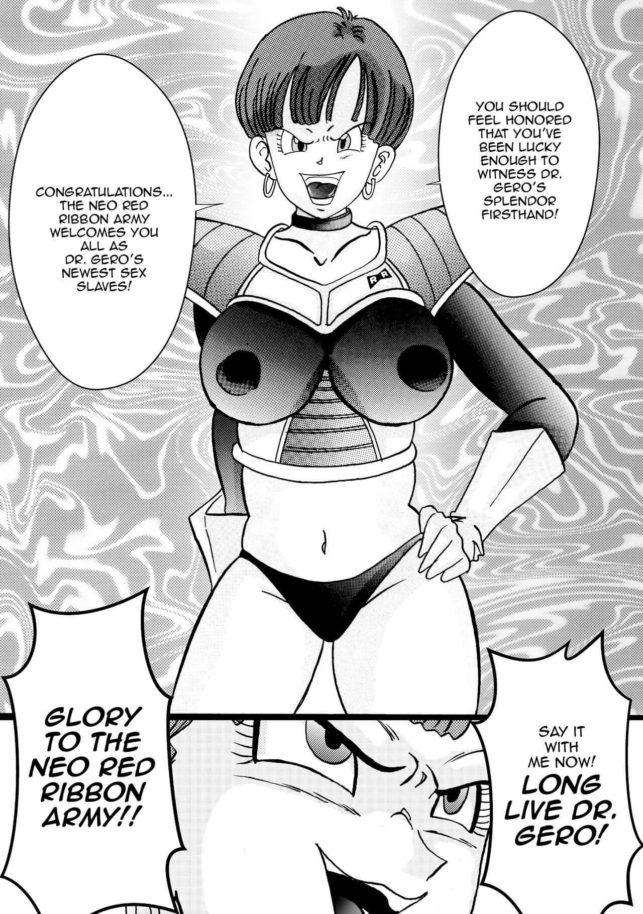 Tanjou Aku No Onna Senshi Jinzou Ningen Ryousan Ka Keikaku Dragon Ball 35