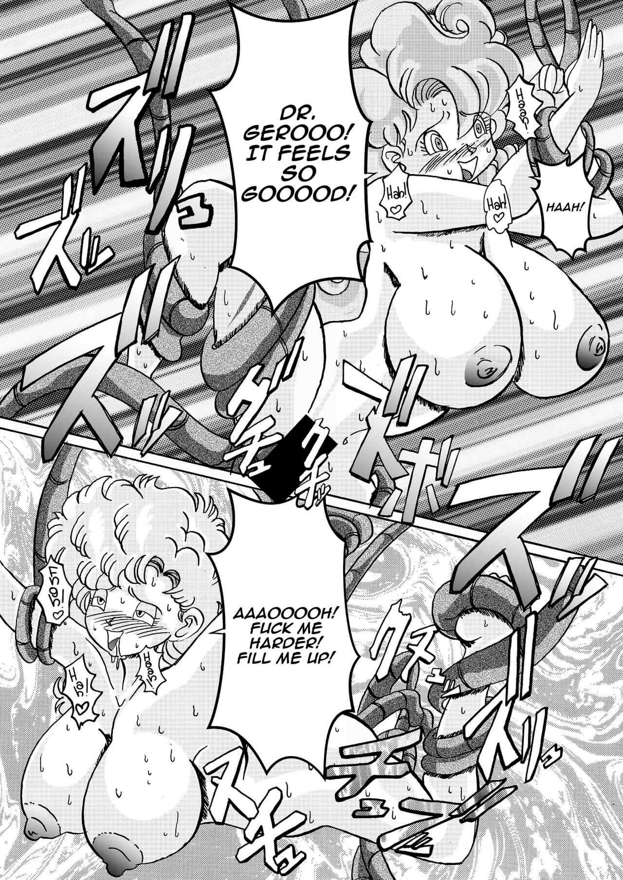 Tanjou Aku No Onna Senshi Jinzou Ningen Ryousan Ka Keikaku Dragon Ball 38
