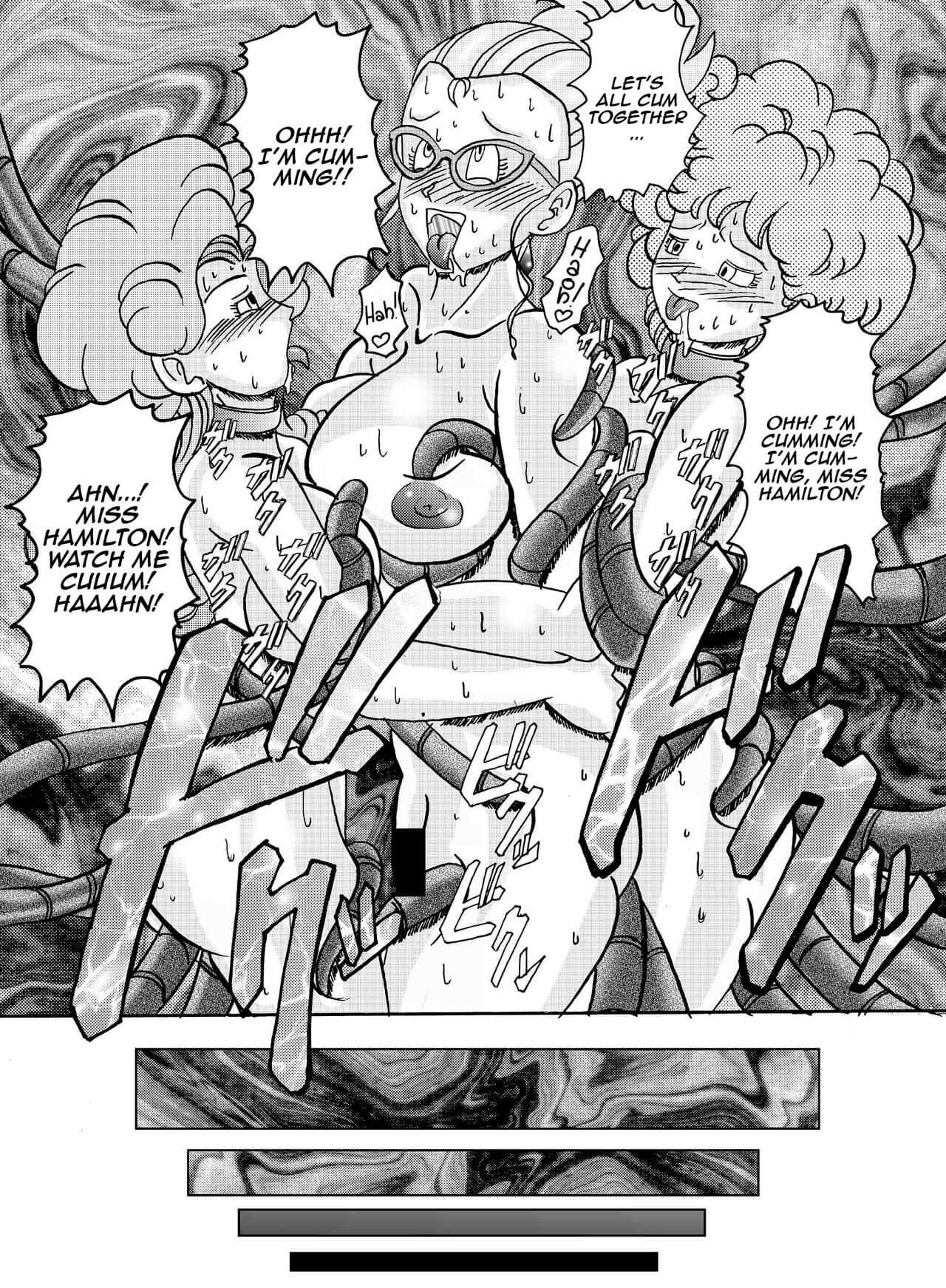 Tanjou Aku No Onna Senshi Jinzou Ningen Ryousan Ka Keikaku Dragon Ball 43